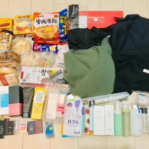 10月 弾丸ソウル旅行帰国しました〜 購入品