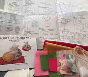 来年の干支『ネズミ』の置物作り