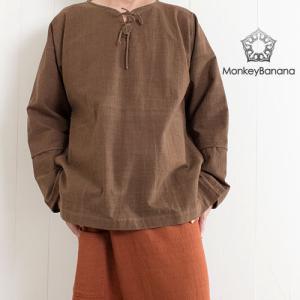 【ピックアップ】カジュアルな秋服 メンズプルオーバーシャツ