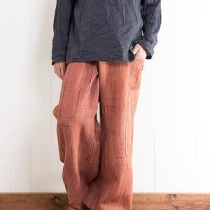 【冬 タイパンツ】冬は厚手のタイパンツで