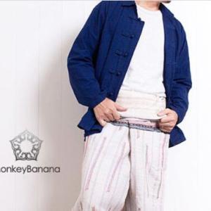 【藍色の服】心が落ち着く藍色 タイ藍染め木綿服 モーホーム