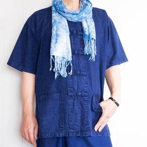 【オトクなブルーセット】ブルーにブルーをのっけて。爽快ブルーコーデ。