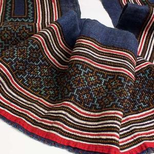 【新着商品】ハンドメイド素材に モン族刺繍古布
