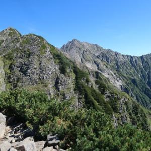 90.西穂高岳(2,909m)
