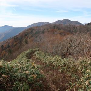 81.川上岳(かおれだけ:1,626m)