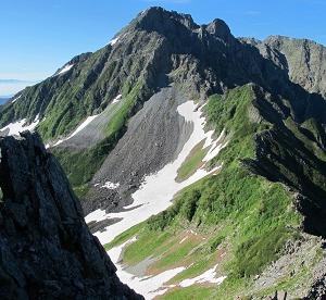 92.北穂高岳(3,106m)