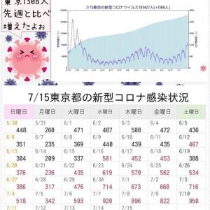 東京都で新たに1308人の感染確認