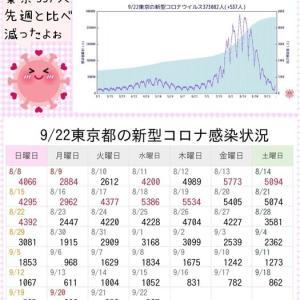 東京都 新型コロナ 16人死亡 537人感染 7日連続1000人下回る