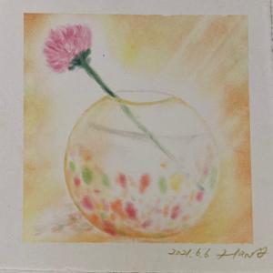 びいどろ製の花瓶