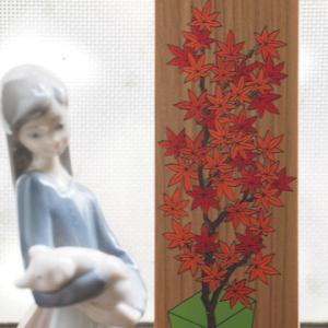 十月の花御札
