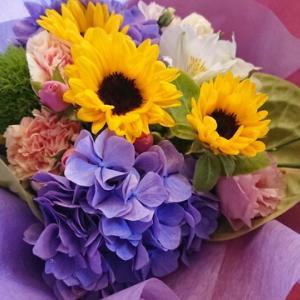 お花いっぱいで