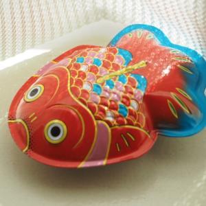 ブリキの金魚さん
