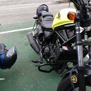 寒いようで寒くない少し寒い日のバイク