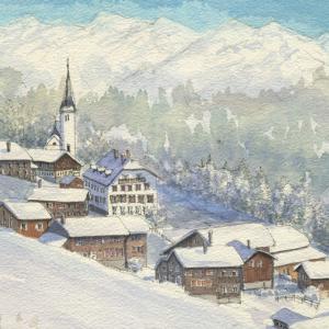 冬のスイス