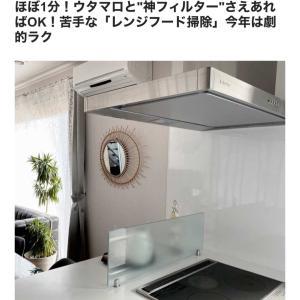 【コラム公開】ほぼ1分!ゲキ楽!レンジフード掃除