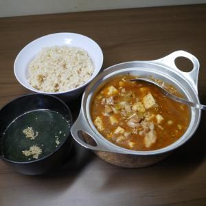 鶏麻婆豆腐定食