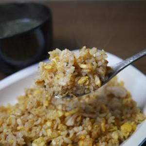 夜食の炒飯