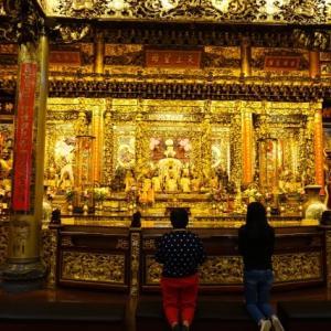 【屏東】「屏東慈鳳宮」金色が眩しい媽祖廟