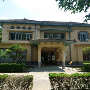 【台南】「旧台南放送局」南門公園内にある日治時代建物