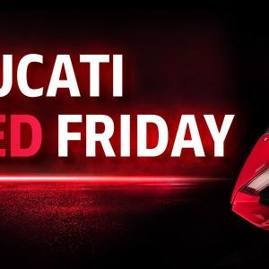 DUCATI RED FRIDAYフェア開催!