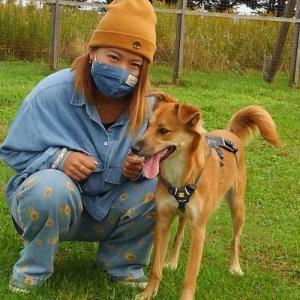 卒業犬のMAOちゃん(旧:真央)が遊びに来てくれました♬