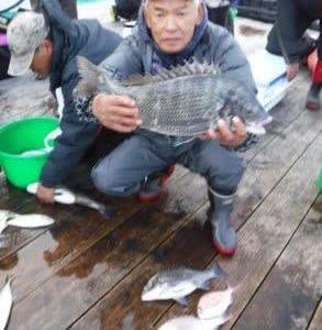 2020年初釣りで今年第一号の歳無し!!