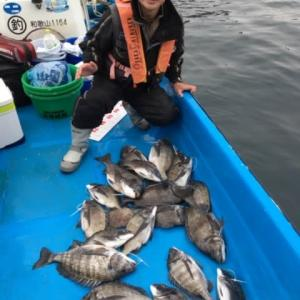 海南から良型数釣りの報告