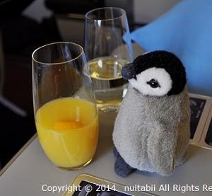 ベネ@ハンガリー旅行 オーストリア航空 成田からウィーンの機内食