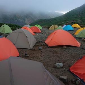 200919 黒岳キャンプ指定地2泊3日 【3週連続黒岳テン泊】