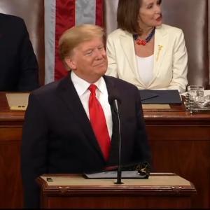 トランプ大統領 一般教書演説