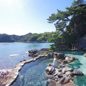 絶景!「ホテル中の島 露天風呂」