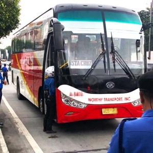 フィリピン 9月30日よりマニラからの中距離バスが再開!!