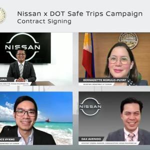フィリピン観光省と日産自動車が手を組んだセーフトリップキャンペーン!!