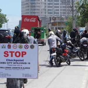フィリピン セブとダバオが封鎖。。。
