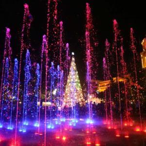 フィリピン イントラムロスにクリスマスイルミネーション!!