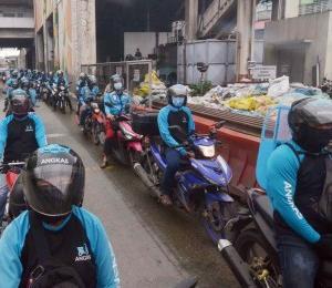 フィリピン バイクタクシーが影響を再開!!