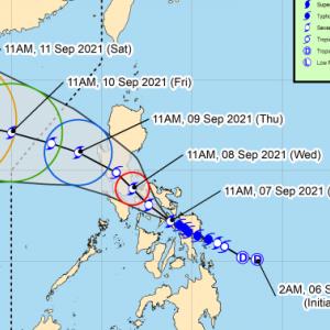 フィリピン  熱帯低気圧で17名が死亡。。。