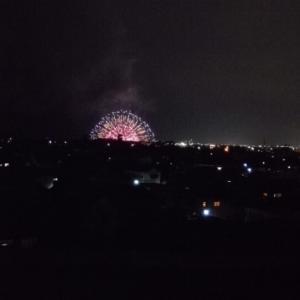 8/14焼津海上花火。絶景席あります。