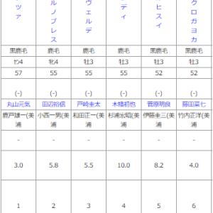 指数を使って東京12R予想~南部杯はプラス収支☆~