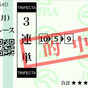 月曜東京11R オクトーバーS 予想