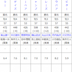 土曜福島12R予想~天皇賞秋は◎〇△的中!