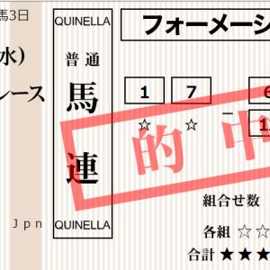 土曜京都11R 石清水S 予想