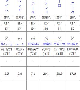 土曜東京5R メイクデビュー東京 予想