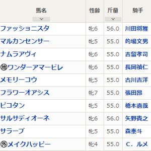 水曜川崎11R スパーキングレディC 予想