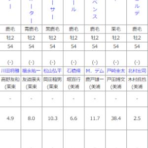 日曜新潟5R メイクデビュー新潟 予想
