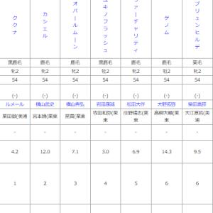 土曜札幌5R メイクデビュー札幌 予想