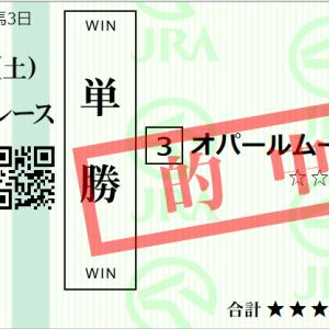 土曜札幌11R STV杯 予想