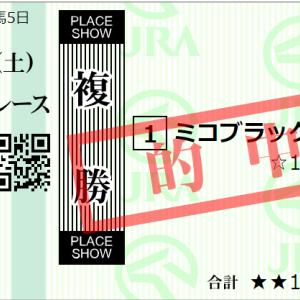 土曜札幌11R 札幌日経オープン 予想