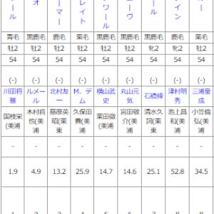 月曜中山5R メイクデビュー中山 予想