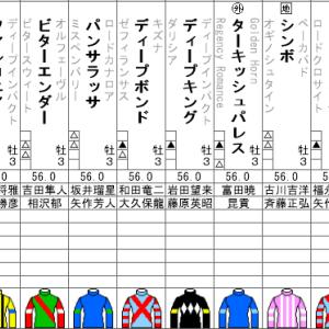 神戸新聞杯 2020 出走全頭分析